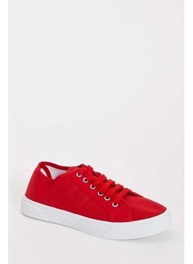 DeFacto Bağcıklı Spor Ayakkabı Kırmızı